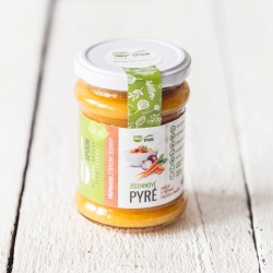 Vegetable puree – prepared from fresh vegetables