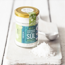 Portuguese sea salt of the highest quality - FLOR DE SAL - SALT FLOWER / Queen of salt