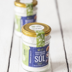 Natural sea salt from Portugal – fine, unrefined, hand-picked